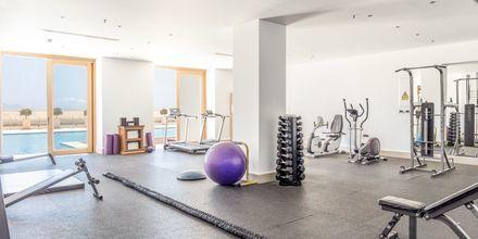 Fitnessrum på Mitsis Blue Domes Resort & Spa på Kos i Grækenland.