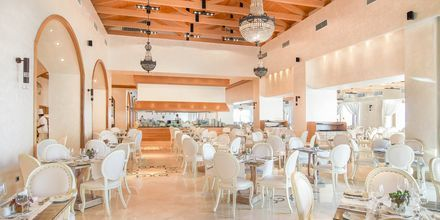 Hovedrestauranten på Mitsis Blue Domes Resort & Spa på Kos i Grækenland.