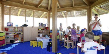 Børneklub på Mitsis Laguna Resort & Spa i Anissaras, Kreta.