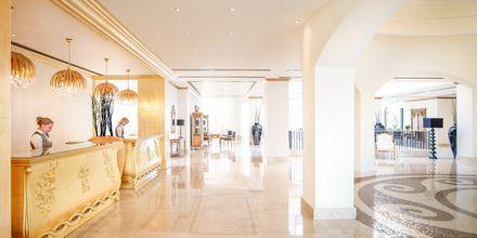 Lobby på Mitsis Laguna Resort & Spa i Anissaras, Kreta.