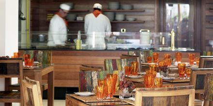 Mexicansk restaurant på Mitsis Laguna Resort & Spa i Anissaras, Kreta.