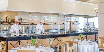 Hovedrestauranten på Mitsis Norida Beach Hotel på Kos i Grækenland.