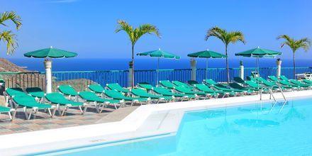 Poolen på hotel Monteparaiso i Puerto Rico, Gran Canaria.