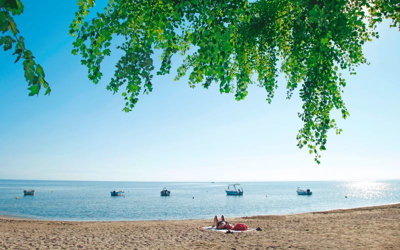 Moraitika på Korfu, Grækenland