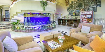 Lobbyen på Hotel My Home i Alanya, Tyrkiet.