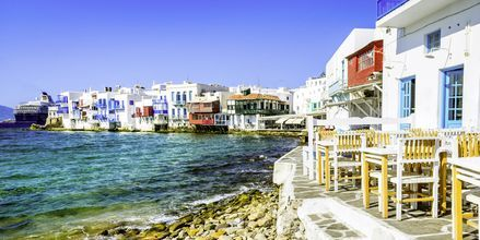 Little Venice i Mykonos by.