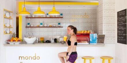 Mondo Café på Hotel Mythos Beach Resort Afandou på Rhodos