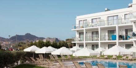 Sidebygning på Hotel Mythos Beach Resort i Afandou på Rhodos