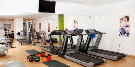 Fitnessrum på Hotel Mythos Beach Resort i Afandou på Rhodos