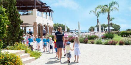 Børneklubben på Hotel Mythos Beach Resort iAfandou på Rhodos