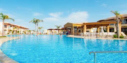 Hovedpoolen på Hotel Mythos Beach Resort i Afandou på Rhodos