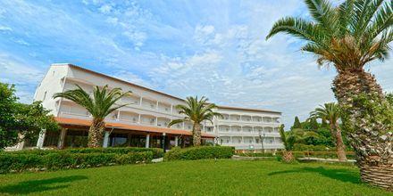 Hotel Livadi Nafsika i Dassia på Korfu.