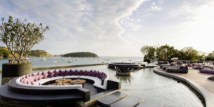 Hotel the Nai Harn Beach på Phuket i Thailand.