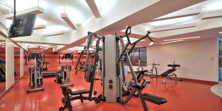 Fitness faciliteter på Hotel Narai i Bangkok i Thailand.