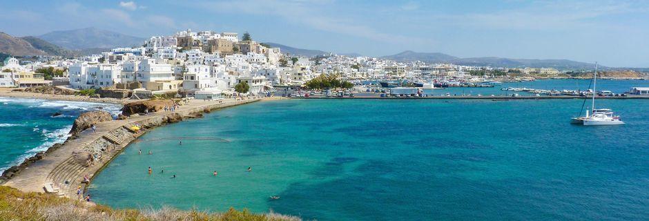 Udsigt på på Naxos, Grækenland