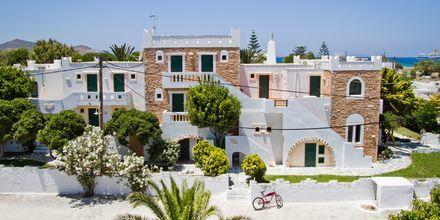 Hotel Naxos Beach på Naxos, Grækenland.