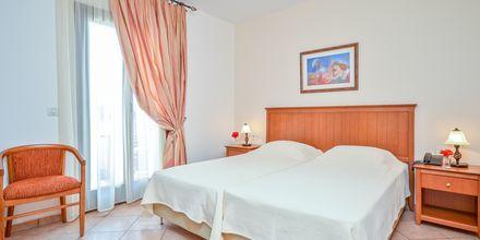 Dobbeltværelse på Hotel Naxos Resort i Naxos by, Grækenland.