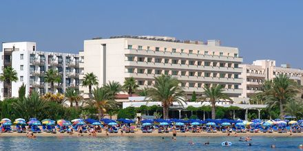 Stranden ved Hotel Nelia Beach i Ayia Napa, Cypern