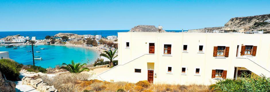 Hotel Neraida på Karpathos, Grækenland