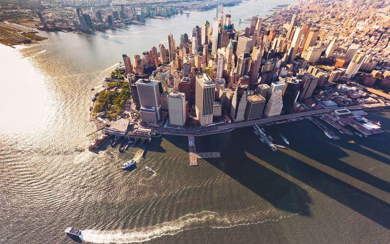 new york rejser fly og hotel