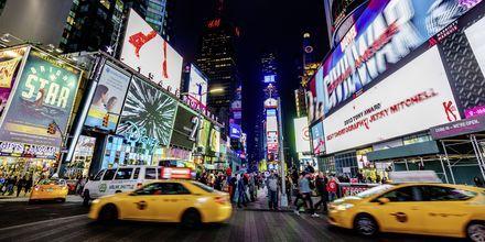 Times Square i New York, USA.