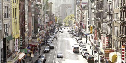 Chinatown i New York, USA.