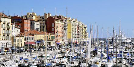 Havnen i Nice.