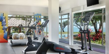 Fitness på Hotel Nikko Bali Benoa Beach i Tanjung Benoa, Bali.