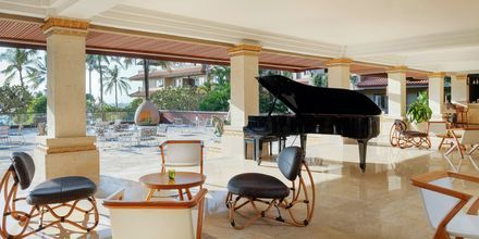 Lounge på Hotel Nikko Bali Benoa Beach i Tanjung Benoa, Bali.