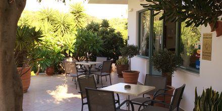 Snackbar på Hotel Nikolas Villas ved Hersonissos på Kreta.