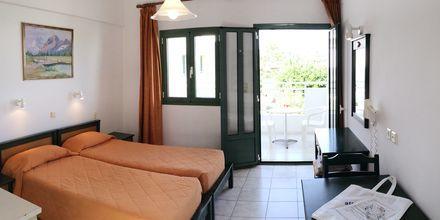 1-værelses lejlighed på Hotel Nikolas Villas ved Hersonissos på Kreta.