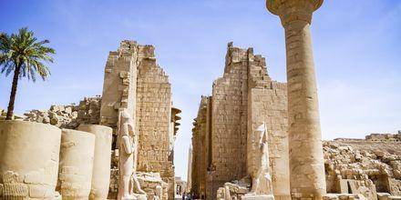 Karnak i Egypten