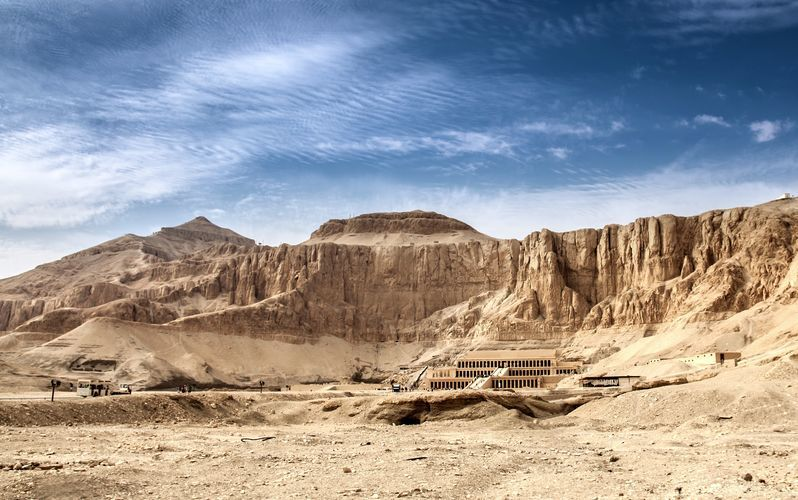 Hatshepsuts tempel.