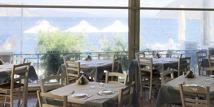 Restaurant på Hotel Nireus på Symi, Grækenland.