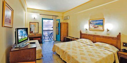 Dobbeltværelse på Hotel Nireus på Symi, Grækenland.