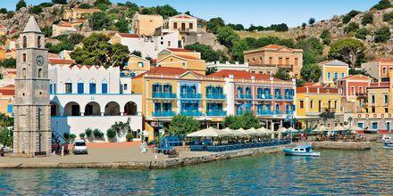 Hotel Nireus på Symi, Grækenland.