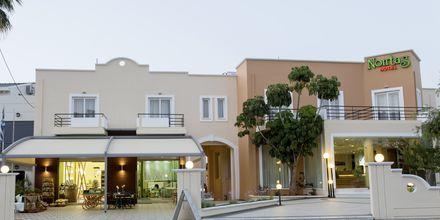 Indgang til hotel Nontas på Kreta, Grækenland