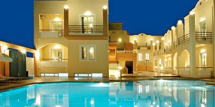 Poolen på Hotel Nontas på Kreta, Grækenland.
