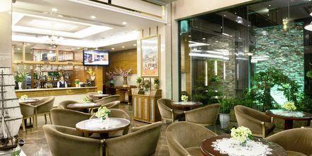 Lobbybar på hotel Northern Saigon, Vietnam.