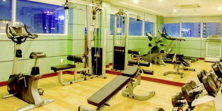 Fitnessrum på Hotel Northern Saigon, Vietnam.