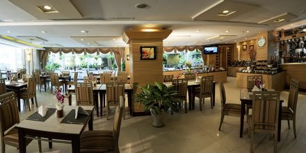 Restaurant på hotel Northern Saigon, Vietnam.