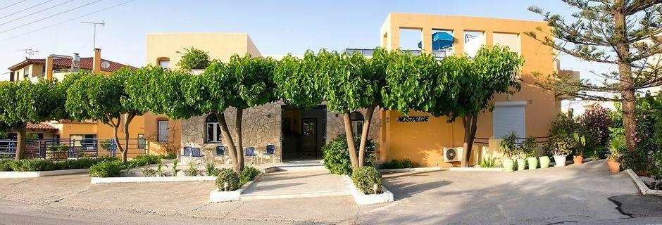 Hotel Nostalgie i Georgiopolis, Kreta.