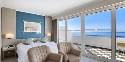 Dobbeltværelse på Hotel Orca Praia på Madeira, Portugal.