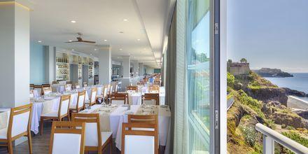 Restaurant på Hotel Orca Praia på Madeira, Portugal.