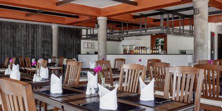 Frokost-restaurant på Hotel Orchidacea Resort ved Kata Beach, Phuket, Thailand.