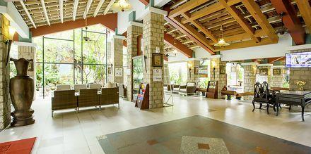 Reception på Oriental Pearl Resort i Phan Thiet, Vietnam