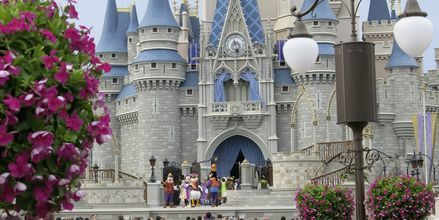 Magic Kingdom i Orlando, Florida, USA.