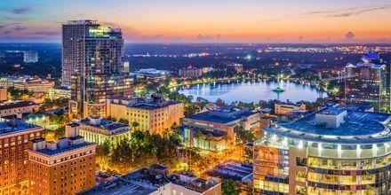 En del af Orlando set fra oven.