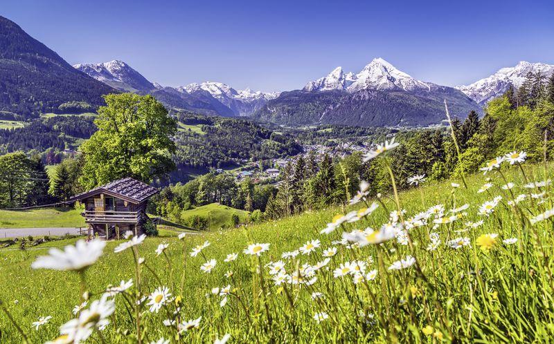 Østrig ligger i hjertet af Centraleuropa og tilbyder fantastisk natur.