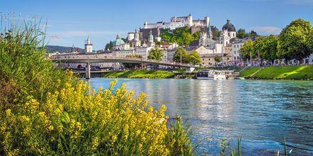 Salzburg er en anden hyggelig by i Østrig, berømt for sin øl og det faktum, at Mozart blev født her.